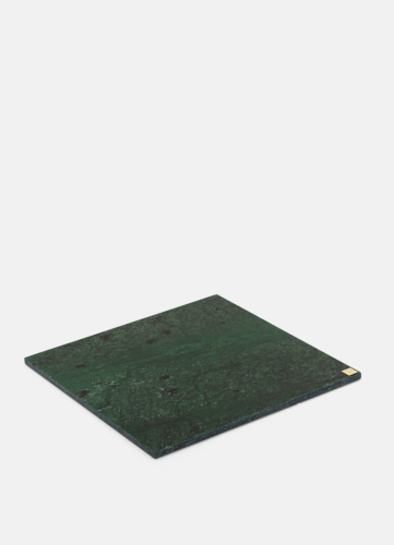 Green Marble Plate - Large