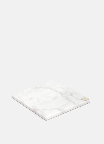 Carrara Vit Marmorplatta - Liten