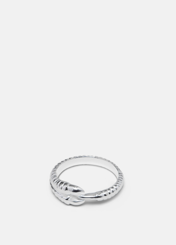 Claw Servettring Silver