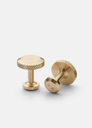 Icon Cuff Link Model 8 - Matte Gold