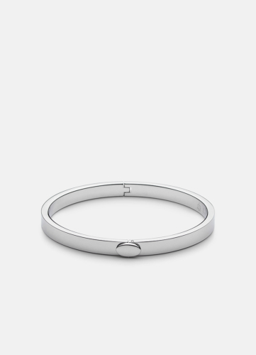 Eternal Bangle - Polished Steel