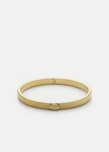 Eternal Bangle - Matte Gold