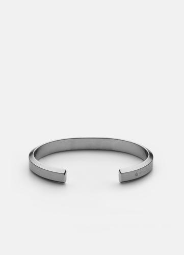 Icon Cuff - Matte Steel