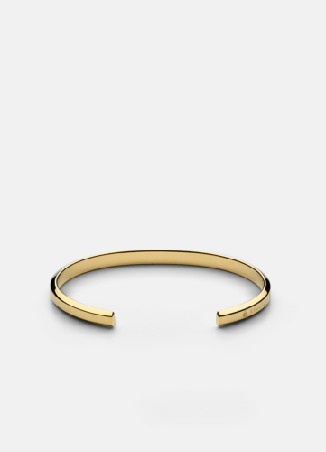 Icon Cuff Thin - Gold Plated