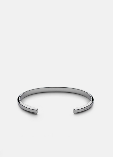 Icon Cuff Thin - Polished Steel