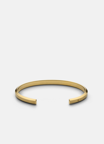 Icon Cuff Thin - Matte Gold