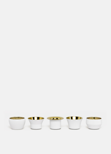 Kin White - Set of 5