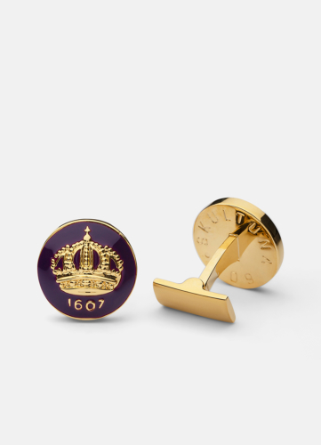 The Skultuna Crown Gold - Palatine Purple
