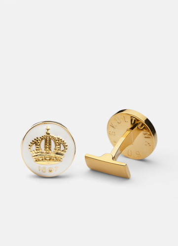 The Skultuna Crown Gold - White