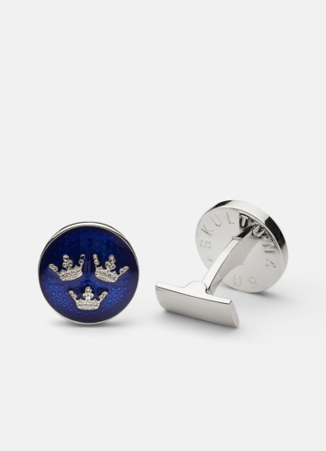Sveriges Riksvapen Tre Kronor - Small Silver