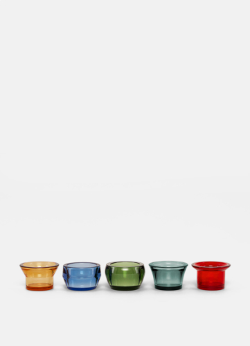 Kin Glass - Set of 5 - Multicolor